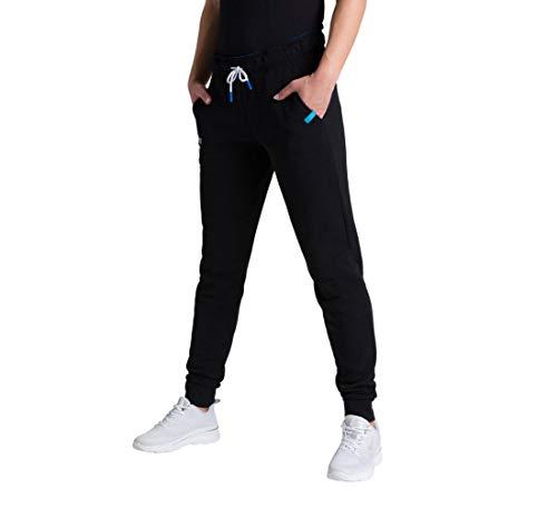ARENA Damen Jogging Hose Te Fleece Jogginghose, Black, M
