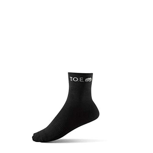 Chaussettes actives noires - TOE - Noir - 35 / 38