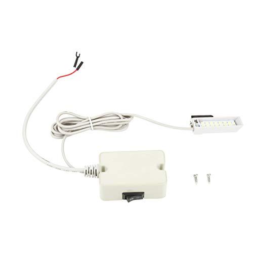 SALALIS Lumière LED à Coudre, lumière à Coudre à économie d'énergie Pratique Ajustez la Position de la lumière en Fonction de Vos Besoins pour Les Machines à Coudre Machines industrielles et