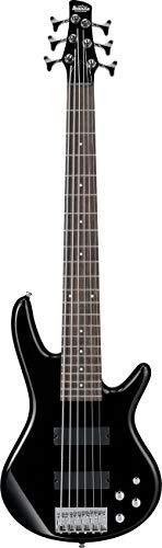 Ibanez GSR206-BK GIO SR Series - Bajo eléctrico (6 cuerdas), color negro