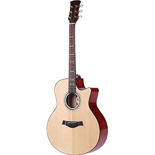 NUYI 41 Zoll Akustikgitarre Männliche Und Weibliche Studenten Gitarren-Lehrer Unterricht Gitarre