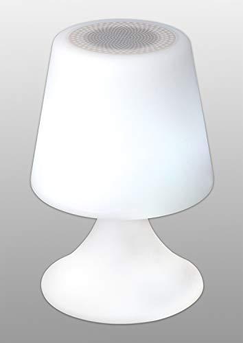 Näve Leuchten Tischleuchte Deko-Leuchte Mit Bluetooth weiß, bunt