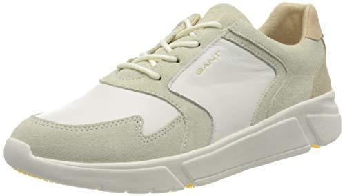 GANT Footwear Damen COCOVILLE Sneaker, Weiß (Br.Wht./Cream/Beige G295), 39 EU