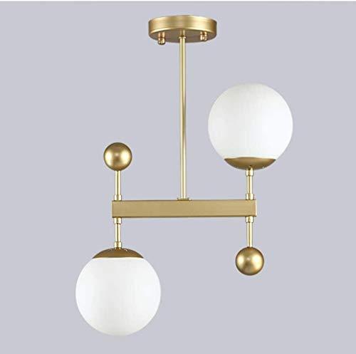 Nordic Restaurant Luster post Moderne minimalistische stijl creatieve persoonlijkheid Bar Eettafel lamp Eettafel Glas Opknoping Lampen