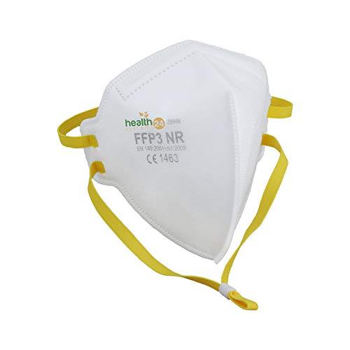 DEVELLE FFP3 Atemschutzmaske 30 Stück Packung CE Zertifiziert einzeln verpackt im hygienischen PE-Beutel Atem Schutz Maske Schutzmaske für alle Bereiche