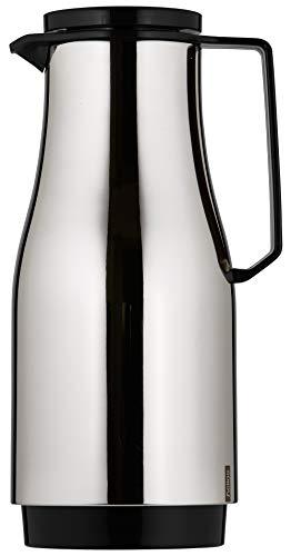 Helios Champion Edelstahl-Isolierkanne mit Drehverschluss 1,5 l schwarz