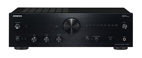 Amplificatore esterero integrato 2.canali con potenza di 75.W per canale Risoluzione di audio 192.KHz/24.bit Colore nero