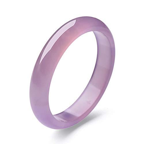 Whiteswallow Jade Jewelry Pink Jade Bracelet Natural Real Jadeite Bangle Gemstone Bracelets for Women
