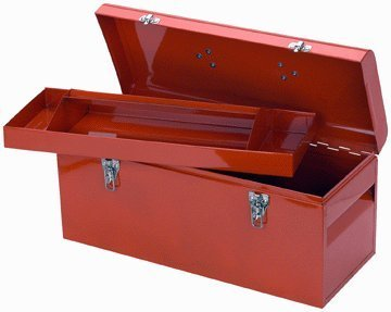 "Storehouse 21"" Steel Toolbox"
