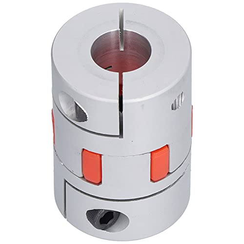 PBOHUZ Acoplamiento Ciruela - Acoplamiento Ciruela D45 L66 Conector Acoplador Flexible Compacto de Aluminio para Bombas de Agua Compresores Maquinaria Hidráulica