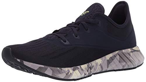 Reebok Women's FLASHFILM 2.0 GR Running Shoe, Purple Delirium/Lilac Frost/Lemon Glow, 11 M...