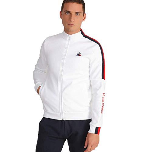 Le Coq Sportif 1921684 Sweatshirt Man White M