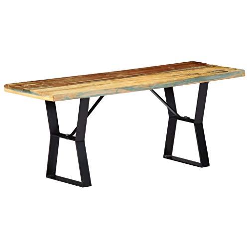 honglianghongshang Sitzbänke Küchen- & Eckbänke Sitzbank 110 cm Recyceltes Massivholz