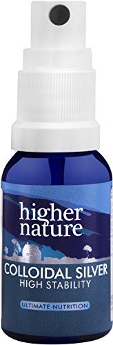Higher Nature Höhere Natur Collodial Silber 15ml, 100 g