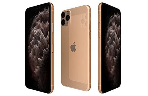 Apple iphone 11 pro max, us version, 64gb, gold - unlocked (renewed)