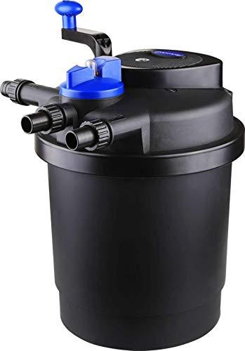 AquaOne CPF 2500 Bio Druckteichfilter 6000l Teichfilter Bachlauf inkl.11 Watt UVC Klärer Druckfilter Bachlauf UVC Lampe Klar UV