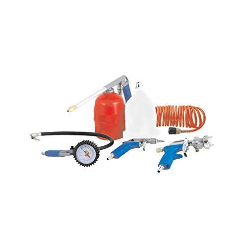 Perslucht compressor accessoireset 5-delig Spuit- lakpistolet bandenspanning slang