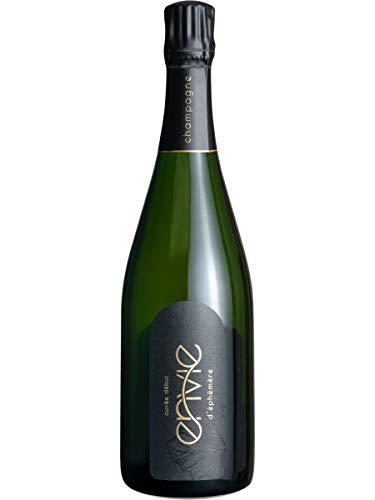 Flasche Champagner mit Geschenkverpackung Champagner Set Brut Vegan Öko [Exklusives Geschenk]
