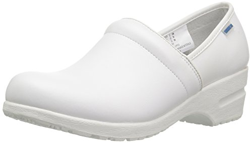 Cherokee Women's Harmony Step-In Padded Collar Shoe,White,6 M US