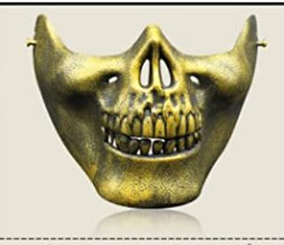 Gold Silver Skull Halloween Masquerade Mask For man and woman Costume Prom Party