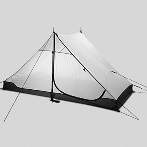 Outdoor Camping Tent 4 Seasons 2 Exterior Camping Tents Premium Ultralight Tent Inner Net Sun Protection Tent