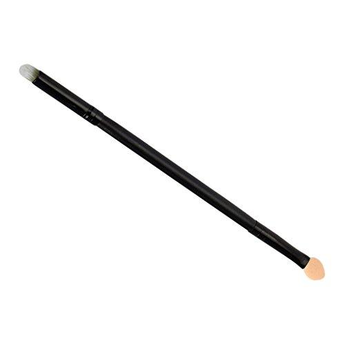 Sharplace Brosse de Maquillage Double Extrémité en Eponge Fibre pour Fard à Paupières et Estompage