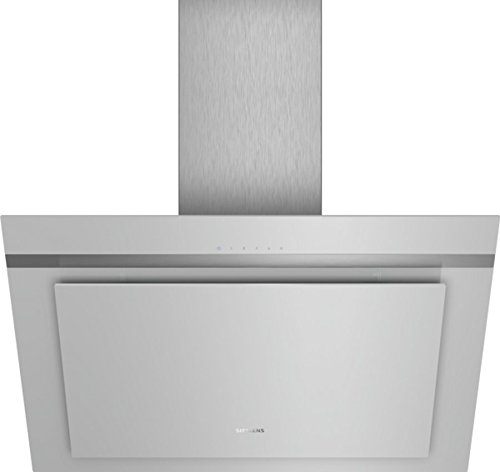 Siemens LC87KHM10 iQ300 Dunstabzugshaube / Wandhaube / 80 cm / Metall-Fettfilter / LED-Beleuchtung / Silber