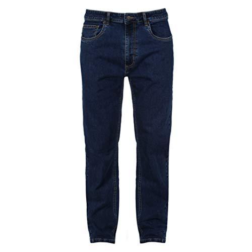 Iron Mountain IMPNT233 Herren Workwear Stretch Jeans Demin Regular Leg 96,5 cm Taille