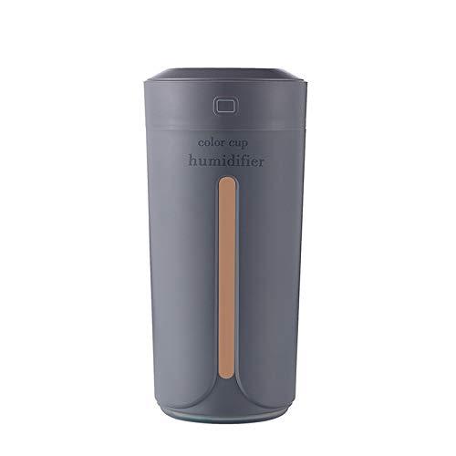 Difusor Ultrasonico, 230 Ml De Aromaterapia De Aceite Esencial, Humidificador De Bastante Difusor Con Luces De Noche De 7 Colores, Modo De Reposo, Auto-apagado Sin Agua, for Hogar, Oficina, Coche De D