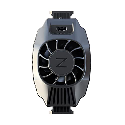 ABOOFAN 1pc Teléfono Semiconductor Enfriamiento Radiador Teléfono Radiador Teléfono Accesorios (negro) Regalo Útil para Mujer Hombre