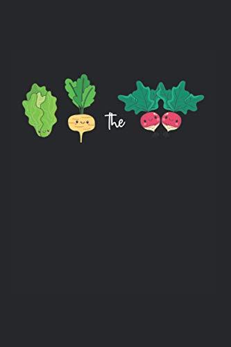 Notizbuch: Kopfsalat Rübe Rübe Aufschlag Beat Vegan Pun Notizbuch DIN A5 120 Seiten für Notizen Zeichnungen Formeln | Organizer Schreibheft Planer Tagebuch