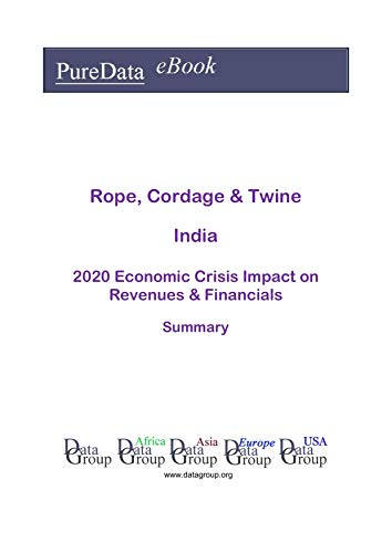 Rope, Cordage & Twine India Summary: 2020 Economic Crisis Impact on Revenues & Financials (English Edition)