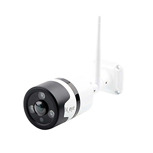 HD 1080P Home Security Camera Intelligent Alarm Motion Detection Support up to 128GB SD Card Wireless Camera WiFi Home Outdoor Mobile Phone Infrared Night Vision Indoor 360° Panorama(White)