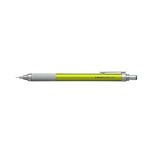 トンボ鉛筆 シャープペンシル モノグラフゼロ 0.5mm ライム SH-MGU51 【まとめ買い5本セット】