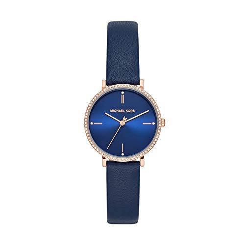 Michael Kors Women's Jayne Three-Hand Rose Gold-Tone Alloy Watch MK7114