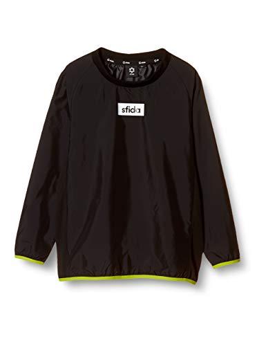 sfida(スフィーダ) [ジュニア] ボックスロゴピステジャケット サッカー フットサル 防寒 防風 トレーニングジャージ ピステジャケット キッズ SA-20A06JR BLACK ブラック 130cm