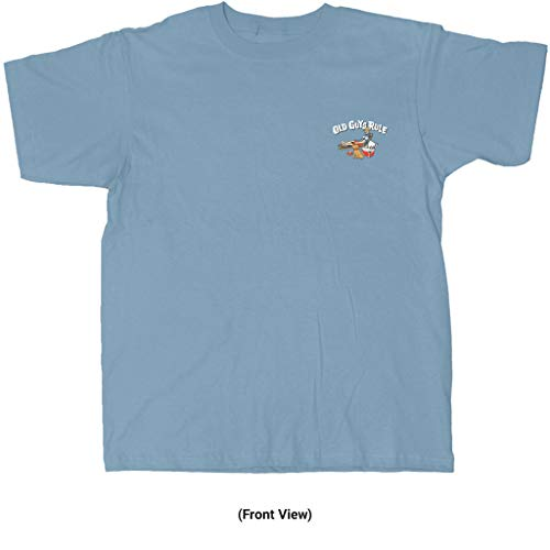 Product Image 5: OLD GUYS RULE T Shirt for Men | Happy Camper | Stone Blue