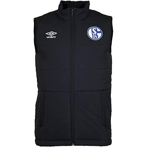 FC Schalke 04 Umbro Padded Vest Weste (S, schwarz)
