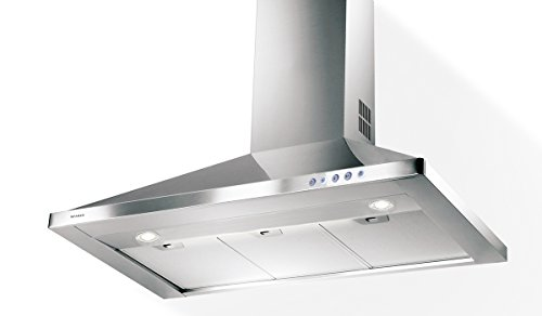 Faber CLAS36SS Classica 36' Wall Canopy Range Hood with 600 CFM Motor in Stainless Steel