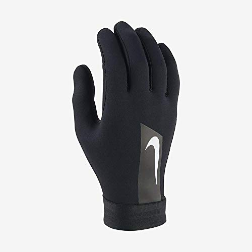 Nike NK ACDMY HPRWRM Soccer Gloves, Black/Black/(White), M