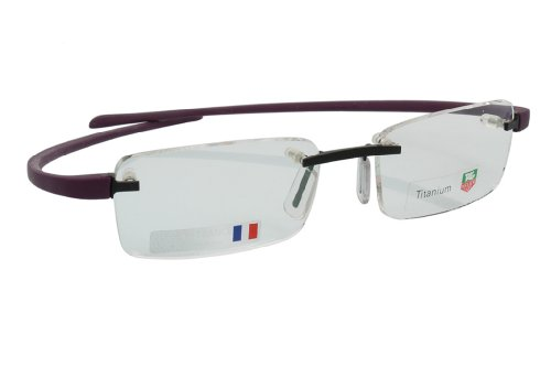 TAG Heuer Mann TH 3101 violett - Brille lenses 50 mm