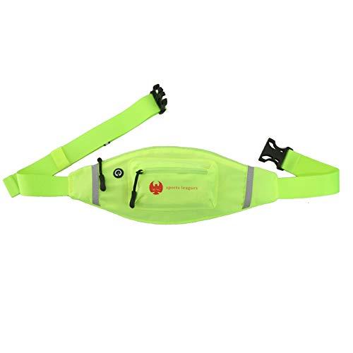 P.I.Sport N.Y. Bagages Sports Bagages Course à Pied et Alpinisme Sports Homme et Femme près du Corps Grand Sac Mobile Sacoches de Loisir Marathon (Color : A)