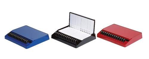 arlac® Telefonregister Luxadex-S/141.24 185x155x30mm royalblau Kunststoff