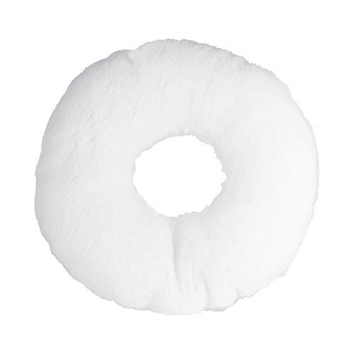 Cojín antiescaras para la oreja, Máxima comodidad, Forma redonda y con agujero en el centro, Medidas: 26x26x6 cm, 100% Garantía y envío gratuito