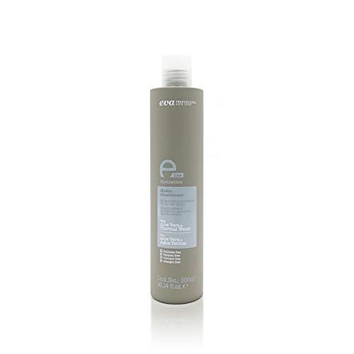 Eva Professional Hair Care, E-Line Hydra Conditioner, Acondicionador Hidratante con Aloe Vera y Agua Termal, Todo tipo de Cabellos, sin Parabenos, sin Sulfatos, sin Siliconas, 300 ml