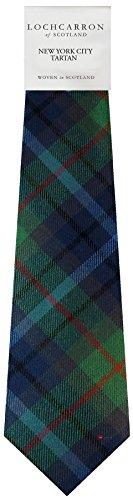 I Luv Ltd Gents Neck Tie New York City Tartan Lightweight Scottish Clan Tie