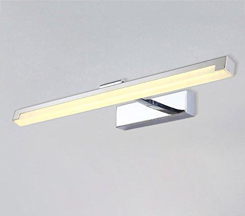 YXWjqd Lámparas para el Espejo del Cuarto de baño Espejo luz Moderna Minimalista led Niebla Impermeable baño baño Espejo lámpara Inodoro IKEA lámpara de Maquillaje Apliques en Forma de Vela