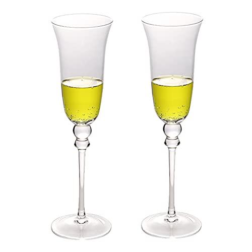 Copas Champan Copas De Vino De Cristal Copas De Cóctel Bar Party Copas De Champán Juego De 2 Copas Para Brindar/Regalos Para Novios