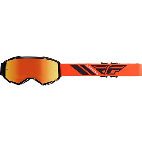 Fly Racing 2020 Zone Goggles (HI-VIZ Orange/Black/Orange Mirror Lens)