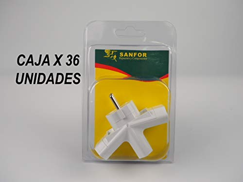 BLANCO Talla /única 3 und, Sanfor 63001 Caja Filtro m/ágico 60